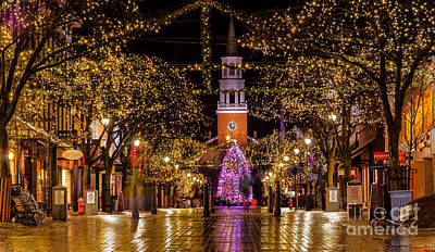 Christmas Time On Church Street. Poster