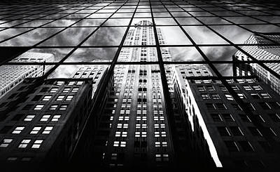 Poster featuring the photograph Chrysler Reflections by Jessica Jenney
