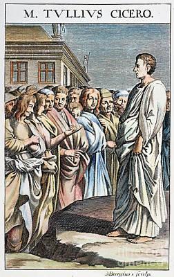 Cicero (106-43 B.c.) Poster by Granger