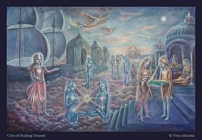 City Of Healing Dreams Poster by Vera Atlantia