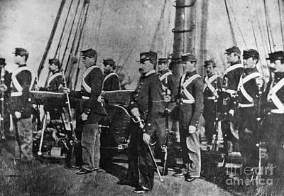 Civil War: Uss Kearsarge Poster by Granger