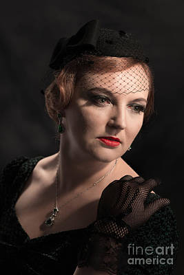Classic Portrait Poster by Amanda Elwell