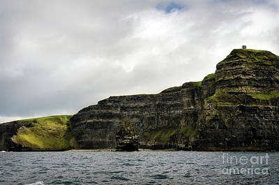 Poster featuring the photograph Cliffs Of Moher From The Sea by RicardMN Photography