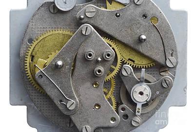 Clockwork Mechanism Poster by Michal Boubin