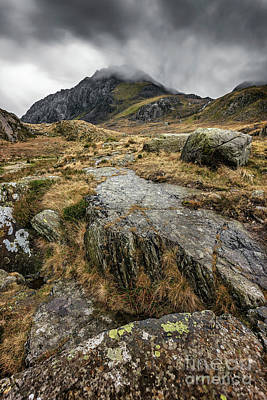 Clouds Over Tryfan Poster