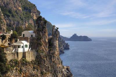 Coast Of Amalfi Poster by Joana Kruse