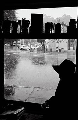 Coffee In The Rain Poster