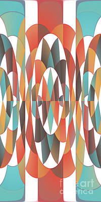 Colorful Geometric Abstract Poster