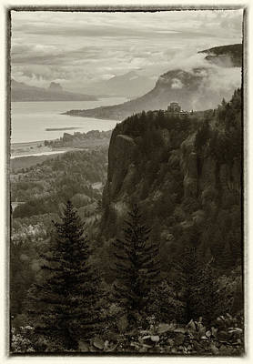 Poster featuring the photograph Columbia River Gorge by Angie Vogel