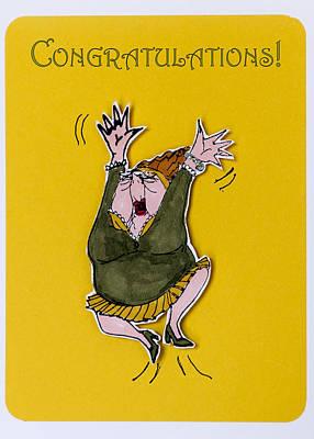 Congratulations Poster by Jon Berghoff