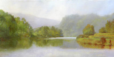 Connecticut River From River Road II Poster