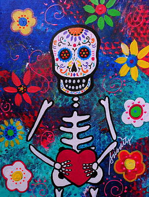 Corazon Day Of The Dead Poster