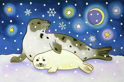 Cosmic Seals Poster