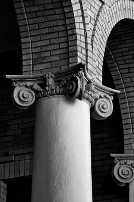 Courthouse Columns Poster