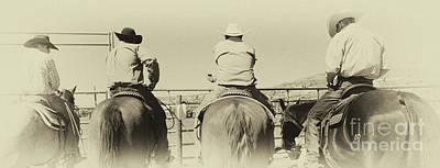 Cowboy Art 1 Poster by Bob Christopher