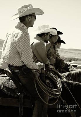 Cowboy Art 2 Poster by Bob Christopher
