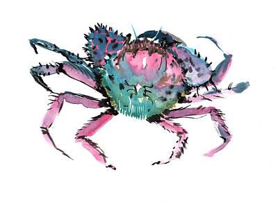 Crab Poster by Suren Nersisyan