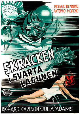 Creature From The Black Lagoon, Aka Poster by Everett