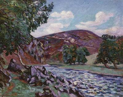Crozant Landscape Poster by Armand Guillaumin