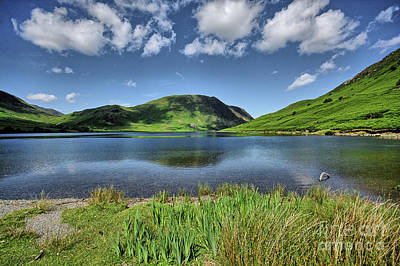 Crummock Water Poster by Nichola Denny