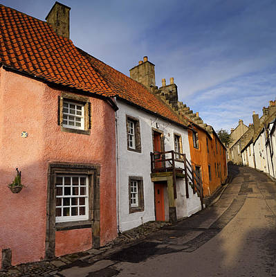 Culross Poster by Jeremy Lavender Photography
