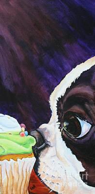 Cupcake Kid Poster