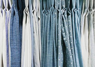 Curtain Fabrics Poster