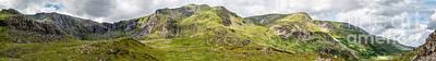 Cwm Idwal Panorama Poster