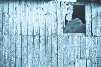 Damaged Hut Poster by Tom Gowanlock