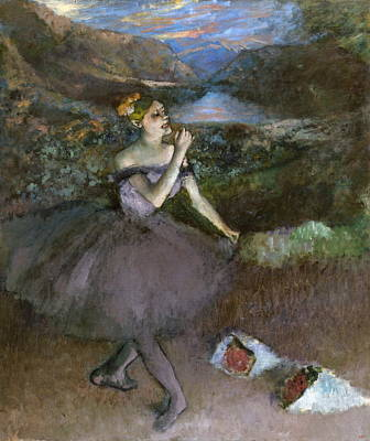 Dancer With Bouquet Poster