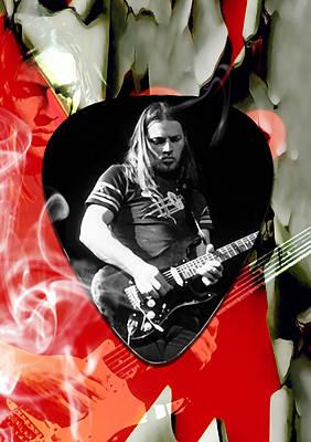David Gilmour Pink Floyd Art Poster