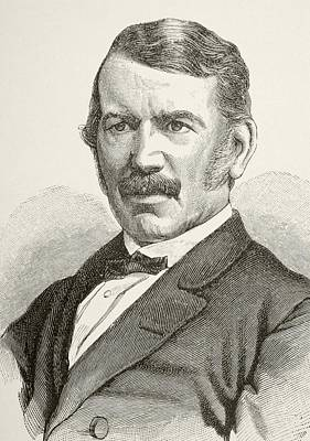 David Livingstone, 1813 To 1873 Poster by Vintage Design Pics