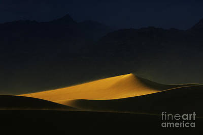 Death Valley California Symphony Of Light 2 Poster by Bob Christopher