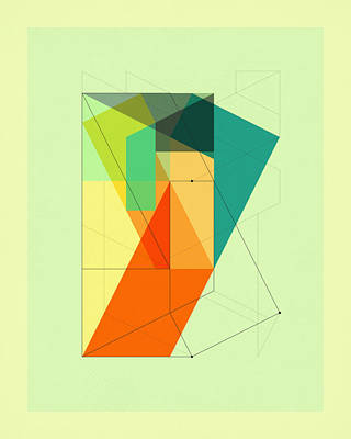 Delineation - 103 Poster by Jazzberry Blue