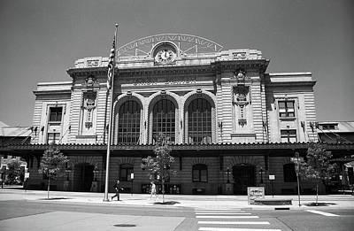 Denver - Union Station Film Poster by Frank Romeo