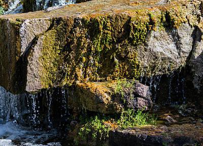 Desert Waterfall 2 Poster