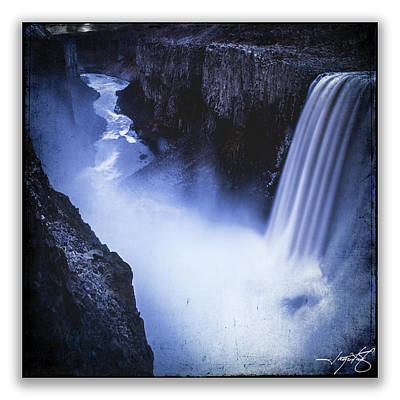 Dettifoss Poster by Ingrid Smith-Johnsen