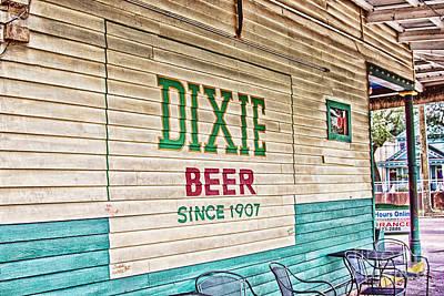 Dixie Beer Poster by Scott Pellegrin