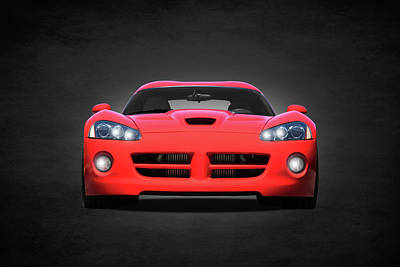 Dodge Viper Poster by Mark Rogan