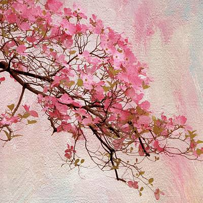 Dogwood Blossom Poster by Jessica Jenney