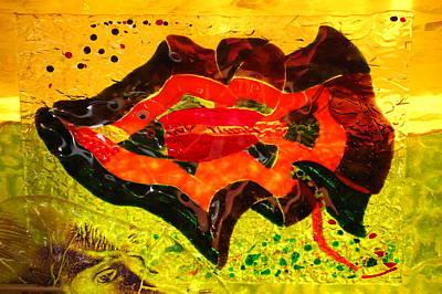 Dreamtime Barramundi Poster by Sarah King