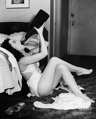 Drink Up Poster by Jon Neidert