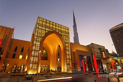 Dubai Burj Khalifa Poster by Juergen Held