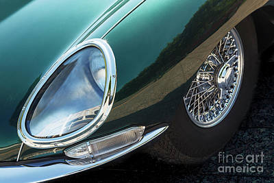 Poster featuring the photograph E-type by Dennis Hedberg