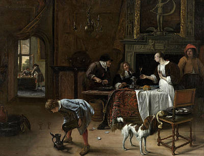 Easy Come, Easy Go Poster by Jan Steen