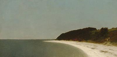 Eaton's Neck, Long Island Poster by John Frederick Kensett