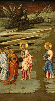 Ecce Agnus Dei Poster by Giovanni di Paolo