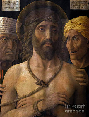 Ecce Homo, By Andrea Mantegna, 1493, Musee Jacquemart-andre, Par Poster