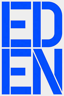 Eden Poster by Three Dots