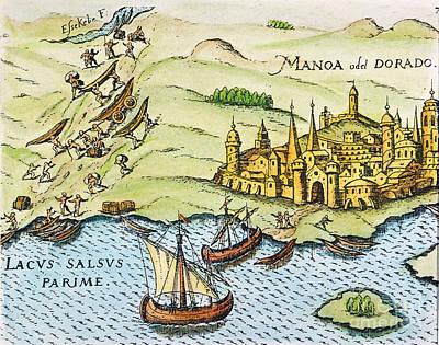 El Dorado, 1599 Poster by Granger
